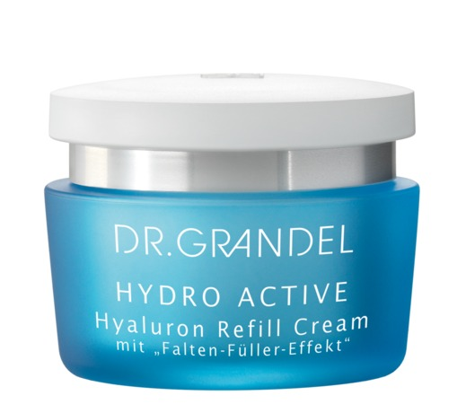 dr grandel hyaluron refill cream moisturizing skincare. Black Bedroom Furniture Sets. Home Design Ideas